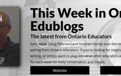 This Week in Ontario Edublogs